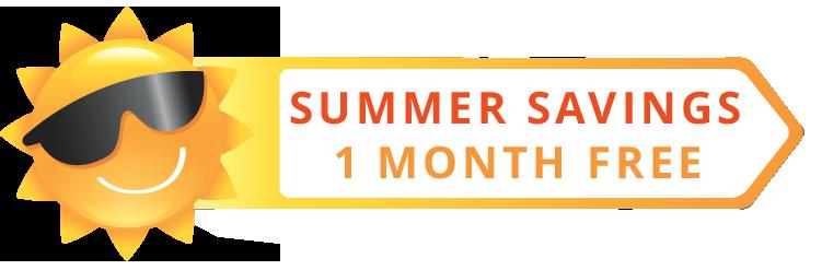 Summer Sale 1 Month Free